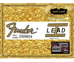 Fender Lead 1 Guitar Decal 101g
