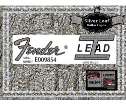 Fender Lead 1 Guitar Decal 101s