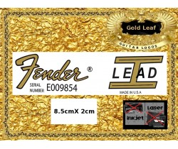 Fender Lead 1 Guitar Decal 104g