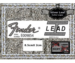 Fender Lead 1 Guitar Decal 104s
