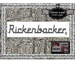 Rickenbacker Decals Guitar Waterslide Headstock logo #113s