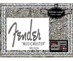 Fender Musicmaster Bass Guitar Decal #117s