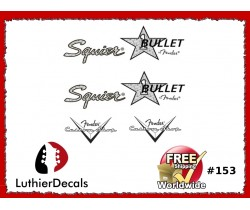 Squier Bullet Guitar Decal #153