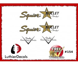 Squier Bullet Guitar Decal #154
