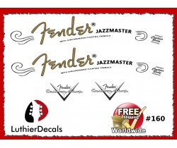Fender Jazzmaster Guitar Decal #160