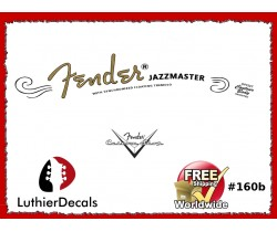 Fender Jazzmaster Guitar Decal #160b