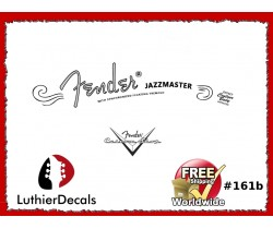 Fender Jazzmaster Guitar Decal #161b