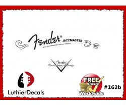Fender Jazzmaster Guitar Decal #162b
