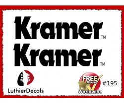 Kramer Guitar Decal #195
