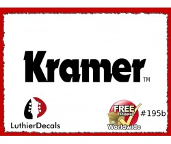 Kramer Guitar Decal #195b