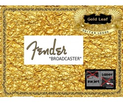 Fender Broadcaster Guitar Decal 24g