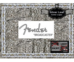 Fender Broadcaster Guitar Decal 24s