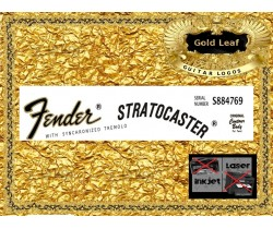 Fender Stratocaster Guitar Decal 26g