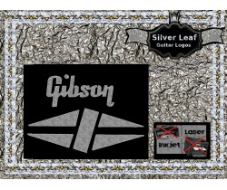 Gibson Guitar Decal 2s