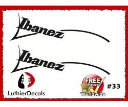 Ibanez Guitar Decal #33