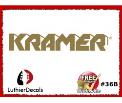 Kramer Guitar Decal #36b