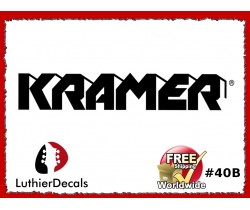 Kramer Guitar Decal #40b