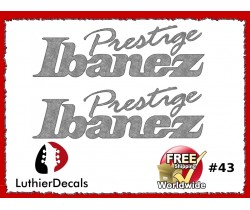 Ibanez Prestige Guitar Decal #43