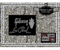 Gibson Les Paul Guitar Decal 4s