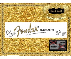 Fender Jazzmaster Guitar Decal #66g