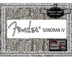Fender Sonoran IV Guitar Decal 90s
