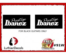 Ibanez Prestige Guitar Decal #91w