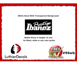 Ibanez Guitar Decal #96wb