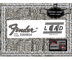 Fender Lead 11 Guitar Decal 97s