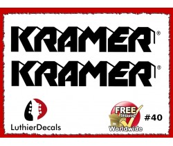Kramer Guitar Decal #40